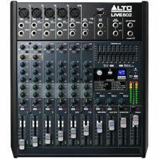 Alto LIVE802 Professional 8 Channels Microphone Mixer