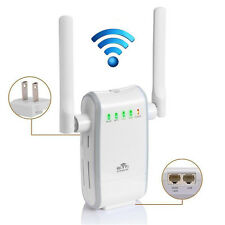 Wireless-N 300Mbps WiFi Range Dual Extender Router/Repeater/AP/Wps Mini Booster