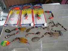 lot of mepps spinner fishing lures