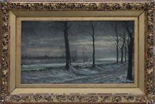 Joseph Heinrich Ludwig Marr (1807-1871) - Winterlandschaft, Ölgemälde, um 1870
