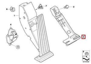 BMW E46 325i 330i Adapter Plate Accelerator Pedal Module Genuine 35426772704