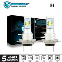 2x H7 LED Headlight Bulbs Conversion Kit Hi Lo Beam 70W 8000LM For 12V 24V Car