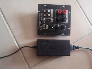Modulo amplificatore subwoofer 2.1  1.0  100 Watt Rms + alimentatore switching