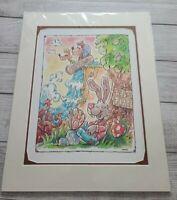 2020 Disney Parks David Buckley Print Up At Splash Mountain Brer Rabbit Fox Bear