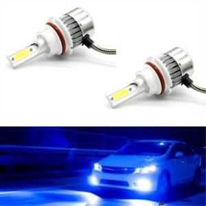 9004 HB1 LED Headlight Kit 55W 8000LM Conversion Light Bulbs 8000K Ice Blue
