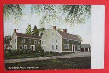 Wayside Inn Sudbury MA Unposted UDB Postcard