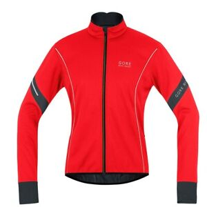Gore Bike Wear Power 2.0 Jacket Windstopper Soft Shell size L color Red