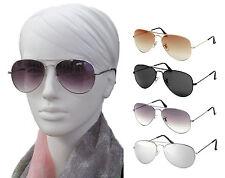 Sonnenbrille Aviator Piloten Fliegerbrille mittlere Größe Damen/Herren
