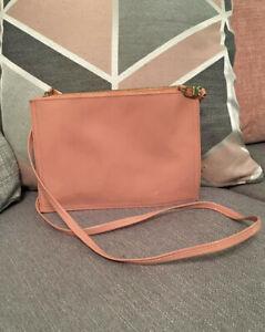 Blush Pink Patten Handbag Oriflame Small Women's Long Shoulder Strap