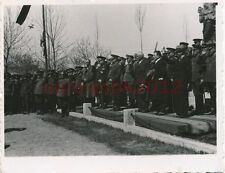 Foto, Craiova, Rumäni. u. dt. Generäle bei Parade e, Herbst 1940; 5026-49