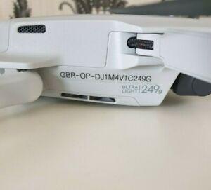UK drone Operator ID labels CAA regulatory stickers. Fits Mavic Mini. 6mm clear