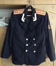 Russian Soviet Navy Naval Officer Army Uniform jacket Military Russia USSR + HAT