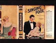 VINTAGE UK.THE SINGING FOOL.FILM ED.READERS LIBRARY.