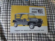 1966 Austin Mini Moke  original factory sales brochure great condition