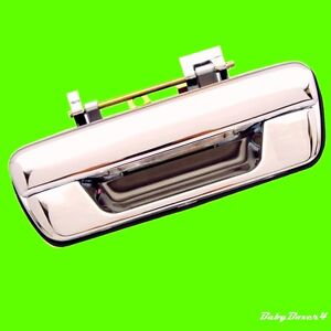 Holden RA Rodeo Ute 03 04 05 06 Chrome Tailgate Rear Door Handle No KeyHole