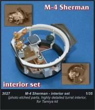Czech Master 1/35 M4 Sherman  Interior set for Tamiya kit # 3027