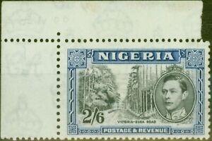 Nigeria 1938 2s6d Black & Blue SG58 P.13 x 11.5 Fine Mtd Mint