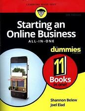 STARTING AN ONLINE BUSINESS ALL-IN-ONE FOR DUMMIES - BELEW, SHANNON/ ELAD, JOEL