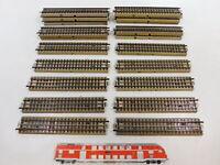 CB181-2# 22x Märklin H0/00/AC Gleisstück (M-Gleis) für 3600/800, sehr gut