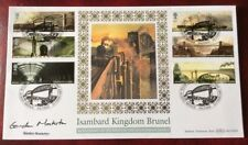 GORDON MASTERTON, Crossrail HS2, Signed 23.2.2006 Brunel FDC Royal Albert Bridge
