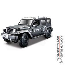 MAISTO JEEP RESCUE CONCEPT POLICE SWAT 1:18 SCALE DIECAST MODEL CAR collectors