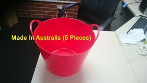 5X 15 Liter Flexible Basket For laundry and For Storage