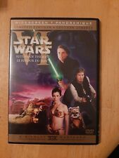 Return of the Jedi - Star Wars (DVD, 2-Disc Set, Limited Edition Widescreen)