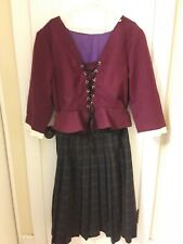 Outlander Style 18th Century Scottish Highland/Colonial Dress