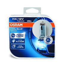 2x Fiat Fiorino Genuine Osram Cool Blue Intense High/Low Beam Headlight Bulbs