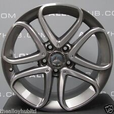 "GENUINE MERCEDES-BENZ A-CLASS W176 17""INCH 5 TWIN SPOKE SINGLE ALLOY WHEEL X1"