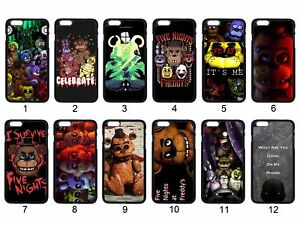 Five Nights At Freddy's Night For Apple iPhone 12 iPod / Samsung Galaxy S21 Case