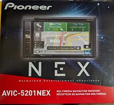 """NEW Pioneer AVIC-5201NEX 2-DIN In-Dash Navigation Car Stereo w/ 6.2"""" Touchscreen"""