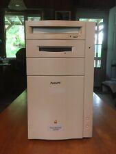 1995 Vintage Apple Power Macintosh 8100/100 Computer - Power PC - Runs Fine