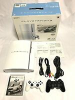 PLAYSTATION 3 (80GB) Ceramic White Gran Turismo 5 pack PS3 SONY Japan game