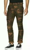 Levi's Utility Pants Mens Size 32X30 Camo Below Waist Slightly Tapered Pants New