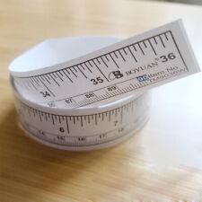 Tools Self Adhesive Metric Rulers Track Tapes Tape Measures Scale Ruler UK STOCK
