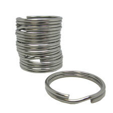 Scuba Diving 38mm Stainless Steel 2.3mm Split Ring for BCD attachment 10pc Pack