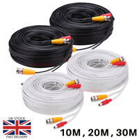 BNC Cable CCTV Data Video&DC Power Lead  Security Camera DVR Data Recorder Wire