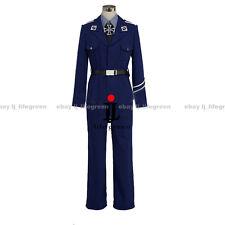 Hetalia: Axis Powers Prussia Gilbert Uniform COS Clothing Cosplay Costume
