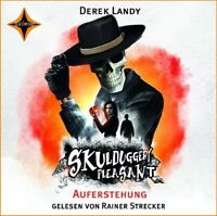 DEREK LANDY - SKULDUGGERY PLEASANT-AUFERSTEHUNG  8 CD NEW
