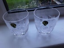 Waterford Crystal Waterford Dungarvan Dof S/2 Tumblers MINT BOXED