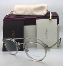 New OLIVER PEOPLES 18K GOLD Eyeglasses OP-505 OV 5184 1467 Dune Crystal Frame