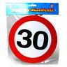 30. Geburtstag Riesen Konfetti 20 Stück,20 cm Durchmesser,Birthday,Neu