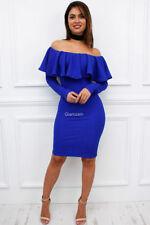 fb19e2c59131 Knee Length Dresses Off Shoulder/Bardot | eBay