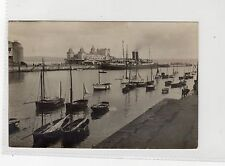 JERSEY BOAT AT WEYMOUTH: Publisher's photograph to produce postcards (C9863)