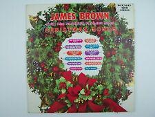 James Brown Sings Christmas Songs Vinyl LP Record Album King 1010 Blue Label