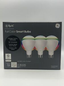 C by GE FULL-COLOR BR30 Smart Bulbs | Google assistant, voice control (3pack)