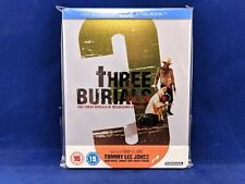 THREE BURIALS Melquiades Estrada Steelbook Bluray Tommy Lee Jones Western Besson