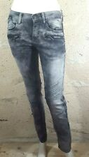 VALEUR 50 € LIBERTO SLIM  Taille 36 NEUF Pantalon jeans jean denim gris  homme