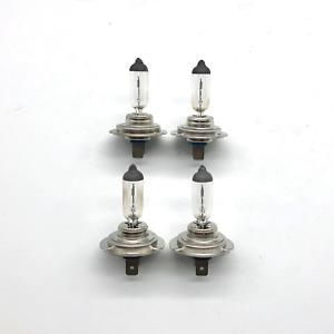 4x OEM Philips / Osram H7 55W Bulb Halogen Headlamp Light Lamp Set